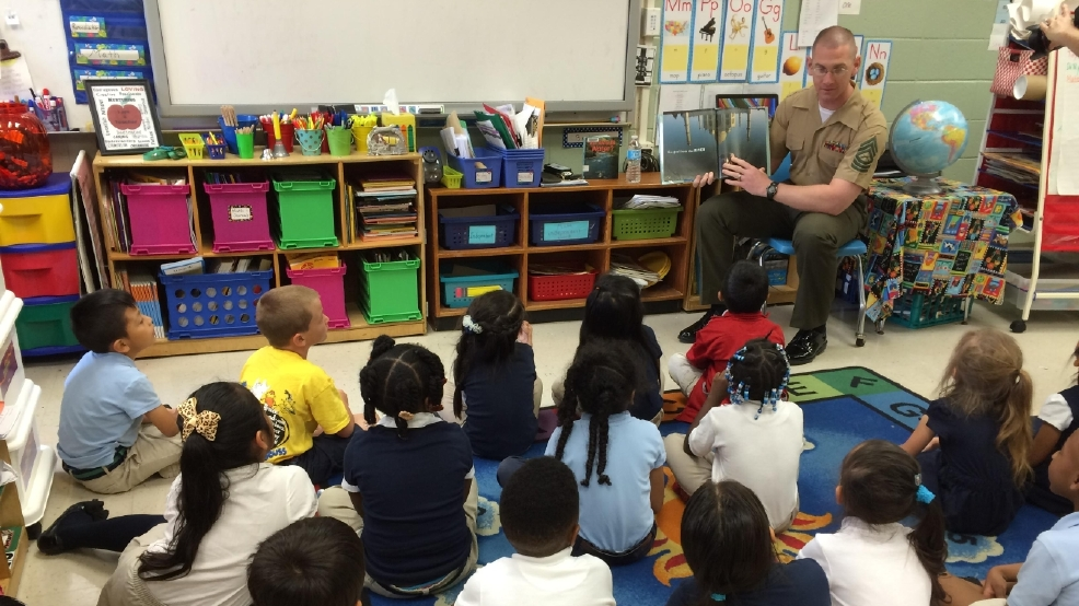 MCLB Marine Honored For Mentoring Future Leaders