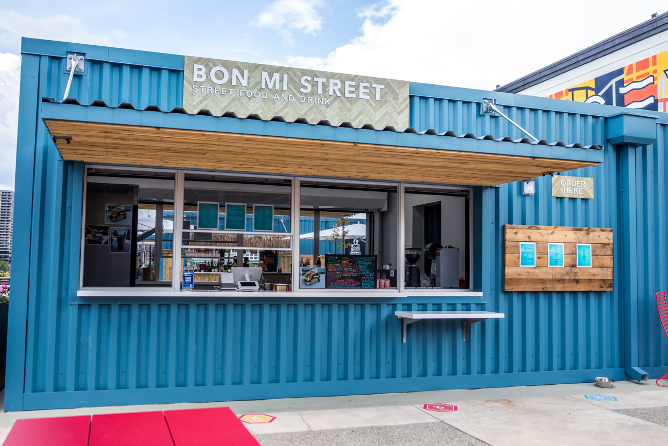 Bon Mi Street specializes in Asian street food including bahn mi sandwiches, sweets like a Mochi waffle, and a variety of Boba teas / Image: Catherine Viox // Published: 6.25.20
