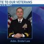 Saluting Our Veterans: Admiral Endel Lee