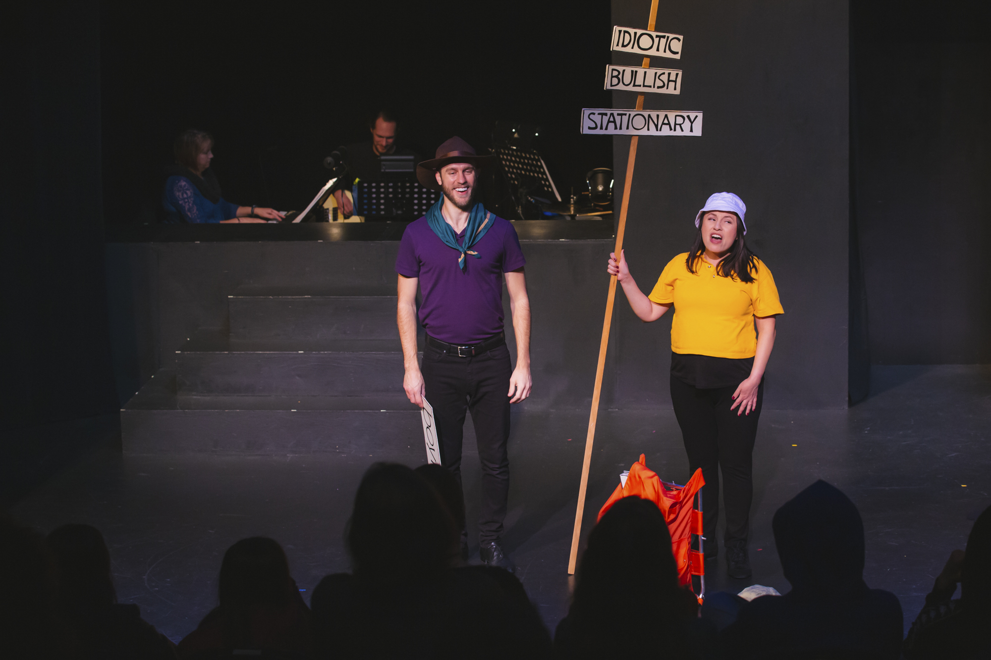 <p>Conjunction junction - what's your function? ReAct Theater is taking us all back in time to celebrate the American institution that was Schoolhouse Rock with live performances almost every day through November 17, 2018. The animated, educational series of musical shorts ram from 1973 - 1985, and covered everything from history, grammar, math, science and politics. More info and tickets at{&amp;nbsp;}brownpapertickets.com/event/3620882. (Image: Sunita Martini / Seattle Refined)</p>
