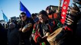 Tribal leader: Pipeline opponents should go home