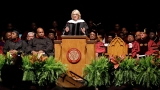 Education Secretary Betsy DeVos booed speaking at historically black university