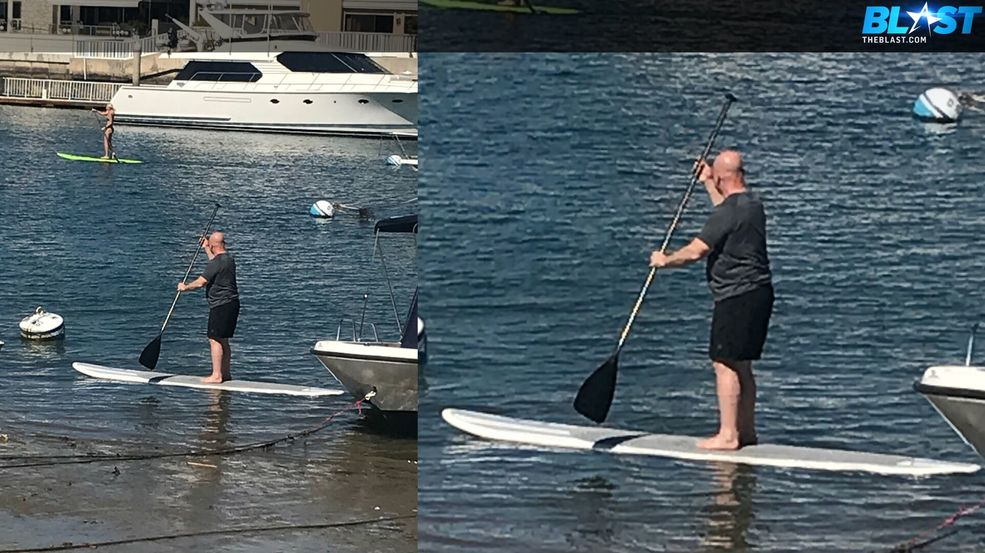 VIDEO: H.R. McMaster paddle boards in Calif. amid reports he's out of administration