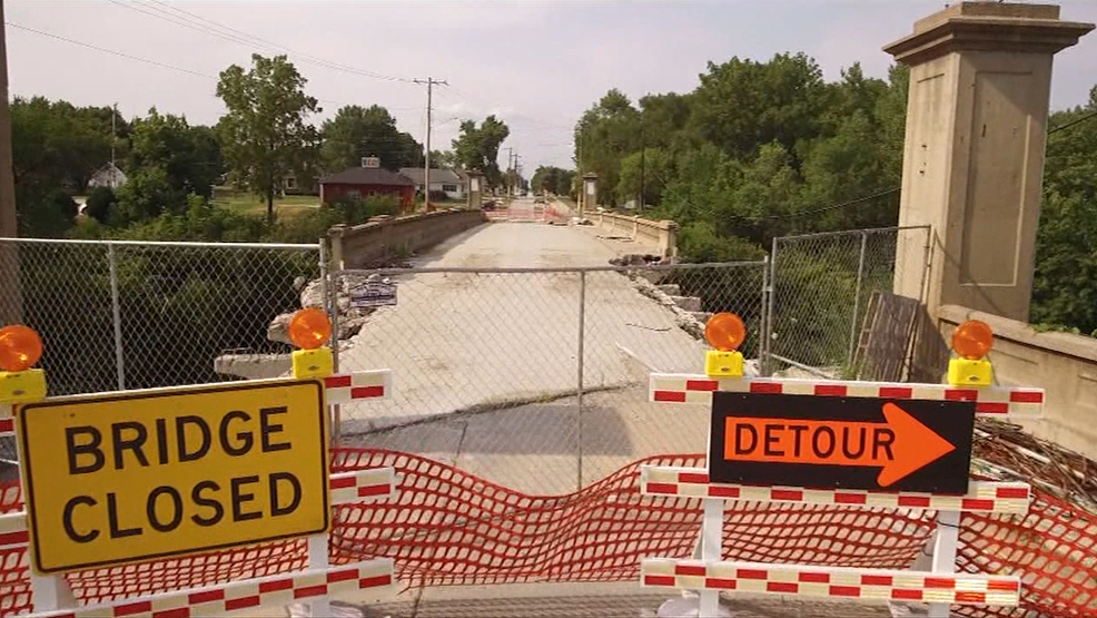 Longer Than Expected Bridge Closure in Adair Causing Frustration