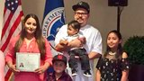 Eight become naturalized US citizens on World Refugee Day