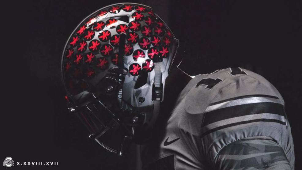 best loved 2b1d4 b112e Ohio State Football releases photos of alternate jersey for ...