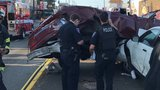 5 injured in crash that closed part of Aurora Ave. in North Seattle