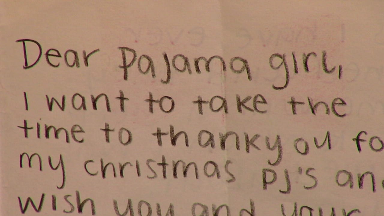 Teen starts charity to help hospital patients like herself by donating pajamas to kids (WKRC)
