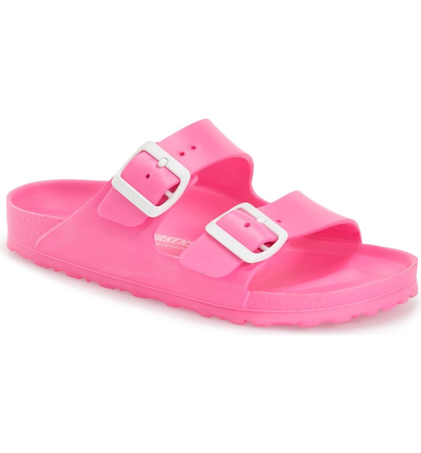 Birkenstock Essentials Arizona Slide Sandal ($34.95). It's time to celebrate Momma.  Here is our Nordie's gift guide for items under $50! (Image: Nordstrom)