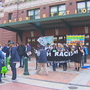 Activists rally ahead of Seahawks home opener