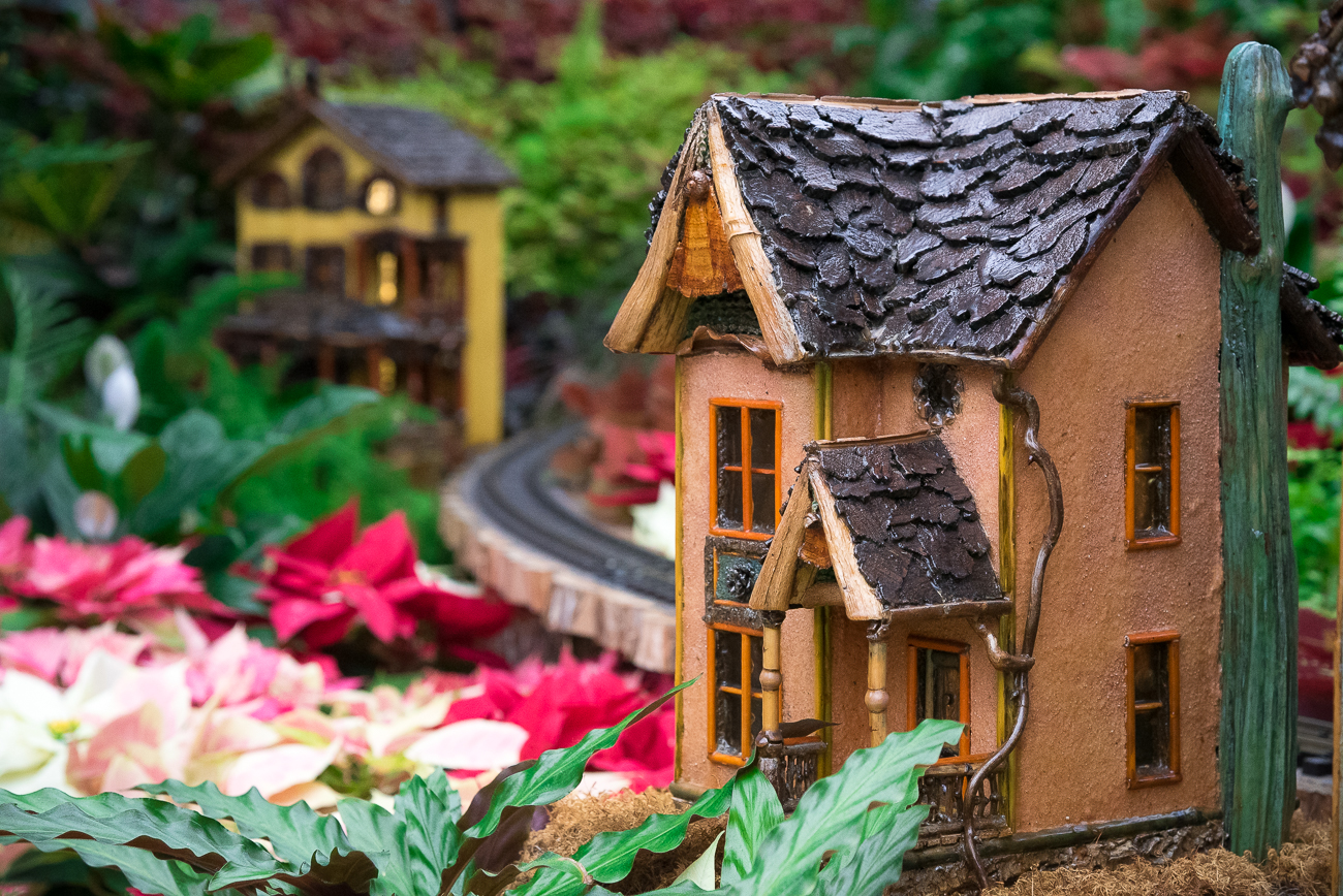 The Krohn Conservatory Holiday Show plants seasonal entertainment throughout the entire greenhouse from now until January 6th, 2019. Miniature trains quietly follow the tracks around poinsettias and other seasonal shrubbery while scaled versions of popular Cincinnati landmarks made from organic material glow from within. Admission is $7 for adults, $4 for children, and free to kids aged 4 or younger. ADDRESS: 1501 Eden Park Drive (45202) / Image: Phil Armstrong, Cincinnati Refined // Published: 12.18.18