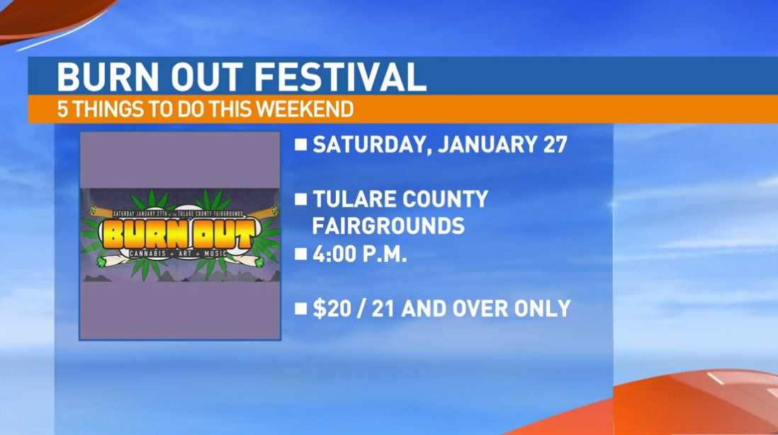 The Burn Out Festival in Tulare has been canceled!