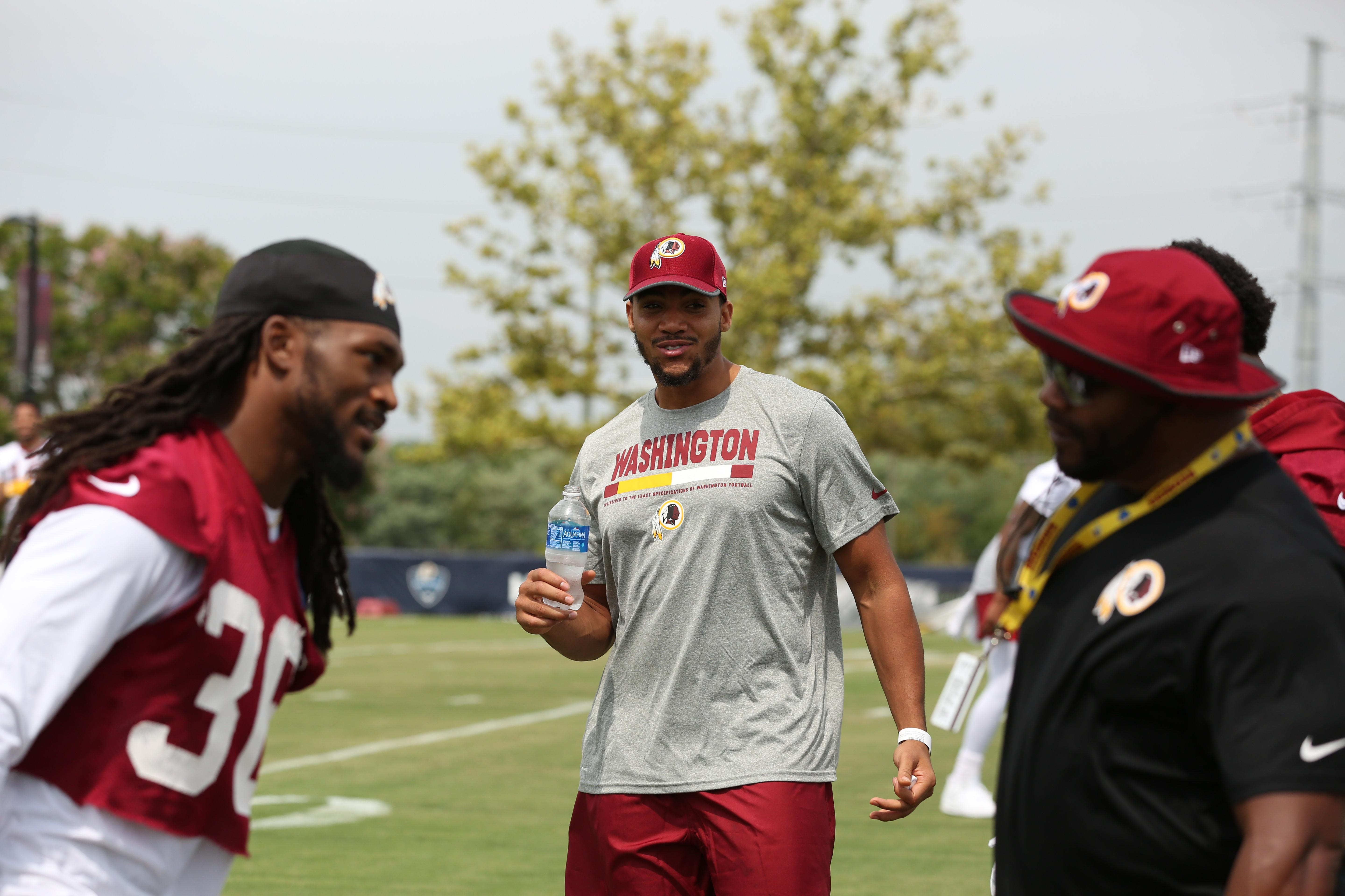 Football season is just around the corner and the Redskins are getting ready to kick off the right way. At the Bon Secours training facility in Richmond, VA, fans gathered to watch the team sweat it out in preparation for the coming season. (Amanda Andrade-Rhoades/DC Refined)
