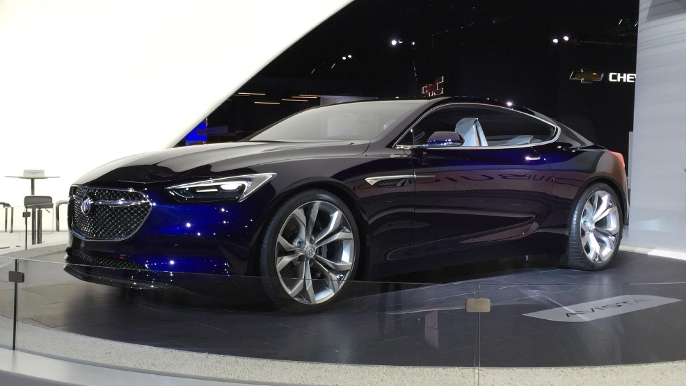 Vista Auto Sales >> Buick won't build Avenir, but doesn't rule out Avista | WCIV