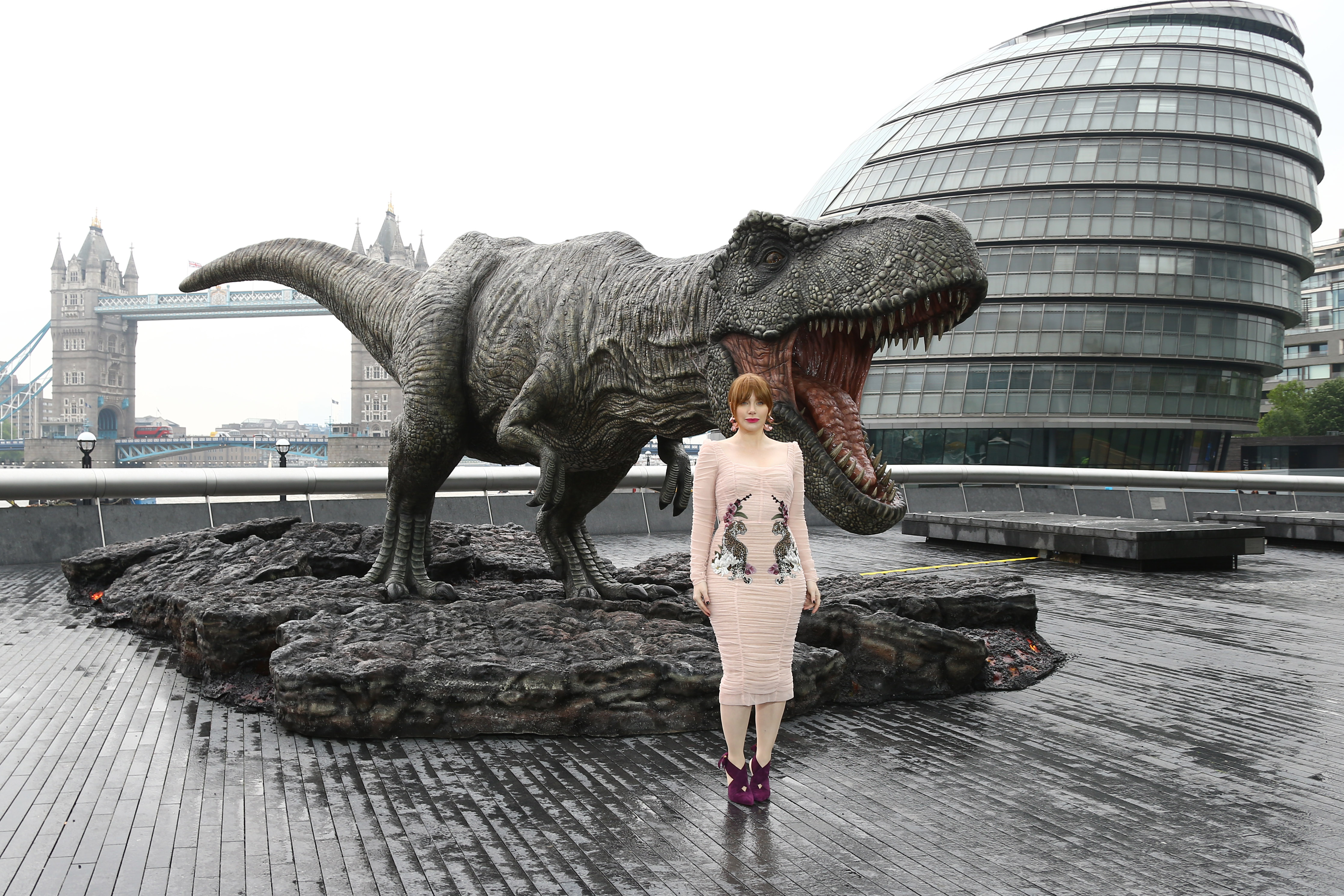 'Jurassic World: Fallen Kingdom' photocall in LondonFeaturing: Bryce Dallas HowardWhere: London, United KingdomWhen: 24 May 2018Credit: JRP/WENN
