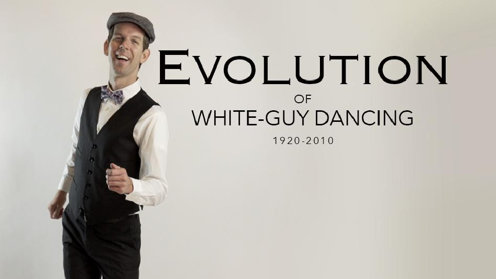 We documented the evolution of white guys dancing at New Year's parties