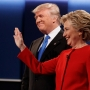 Clinton, Trump battle fiercely over taxes, race, terror