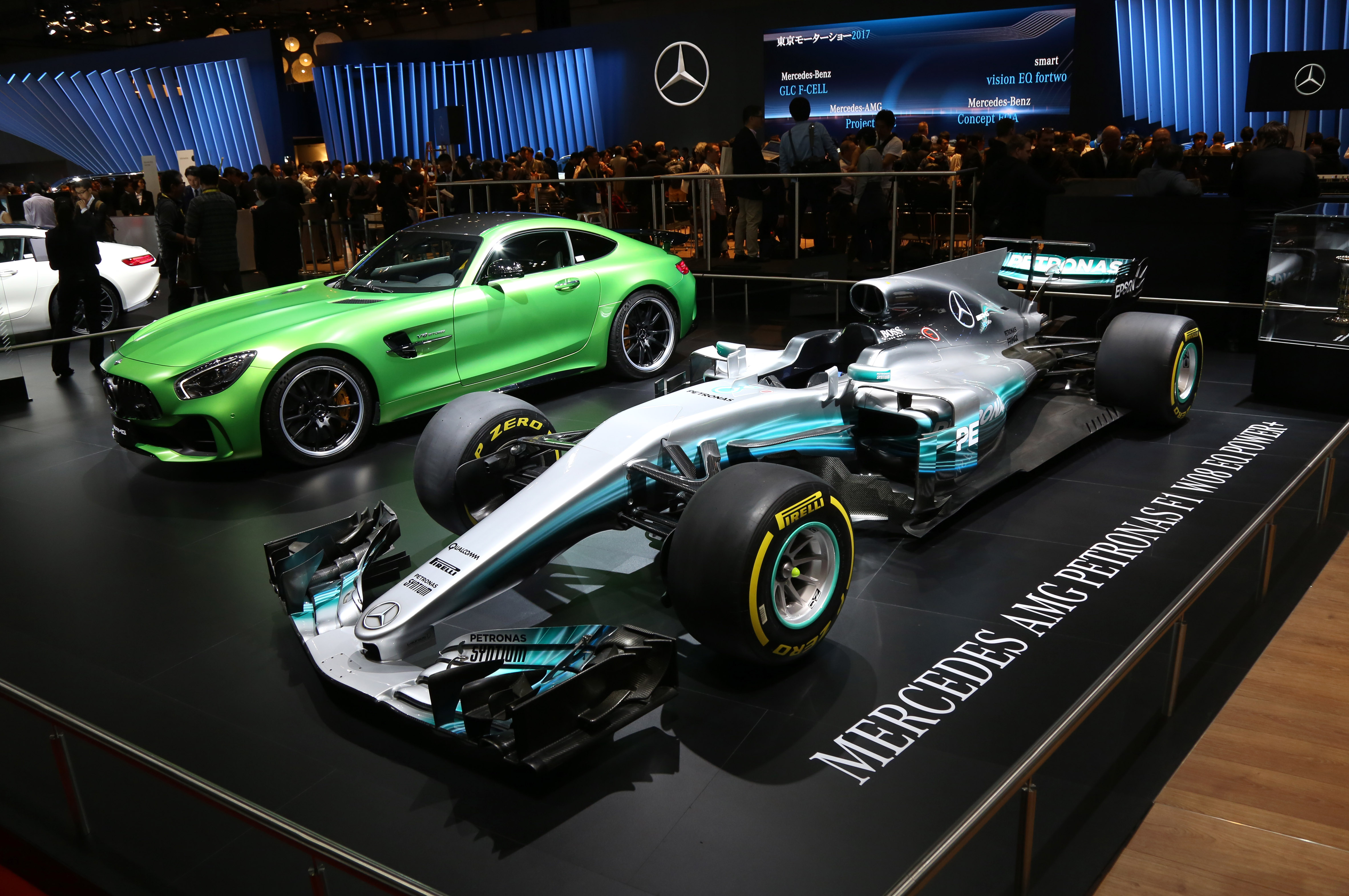 Tokyo Motor Show 2017  Featuring: Mercedes Benz Where: Tokyo, Japan When: 25 Oct 2017 Credit: Yukio Tomita/Future Image/WENN.com  **Not available for publication in Germany**