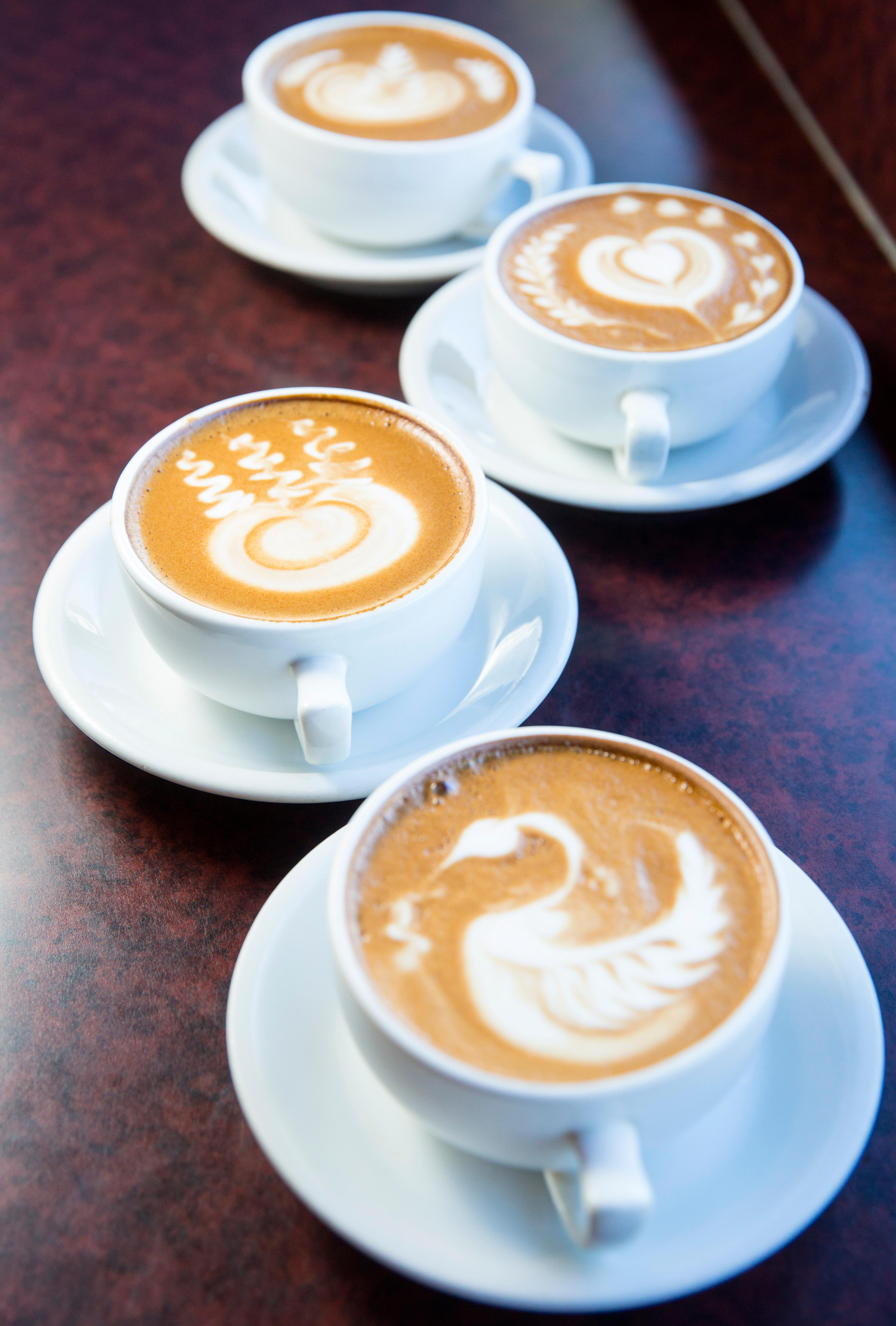 Owner James Ly and barista Taylor Westerlund whipped up a bunch of awesome latte designs for us at Caffe Zingaro, located at 127 Mercer St. Thanks to the feedback by our social media followers, this location was chosen for its latte art! Happy National Coffee Day! (Sy Bean / Seattle Refined)