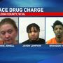 Three arrested after heroin, guns and cash found at Raleigh home, deputies say