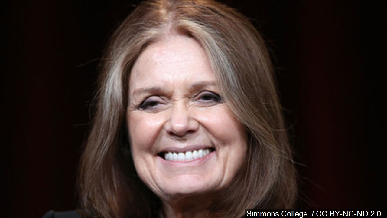 Gloria Steinem (Photo courtesy MGN Online)