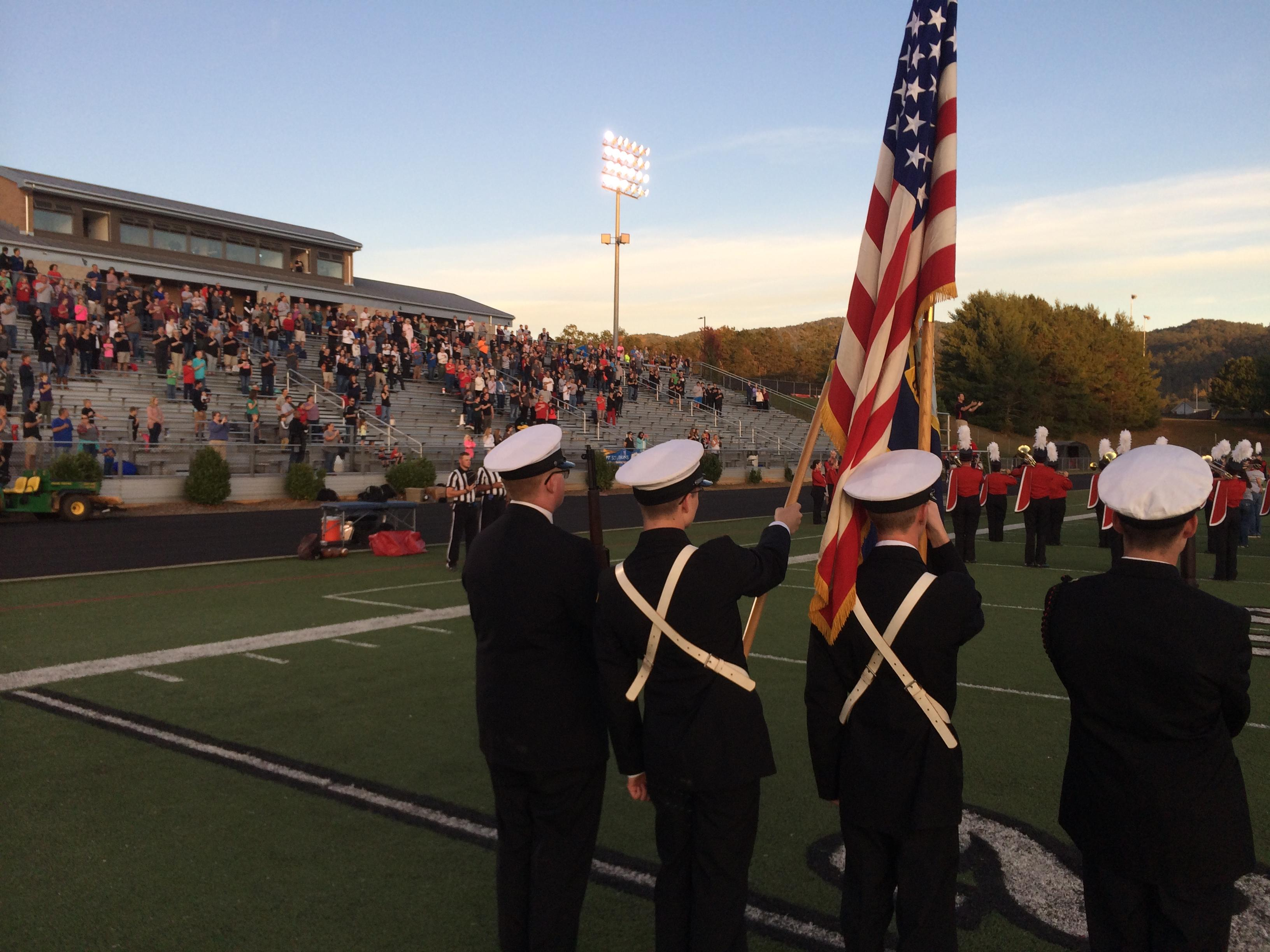 North Henderson vs North Buncombe, 10-06-2017 (Photo credit: WLOS Staff)