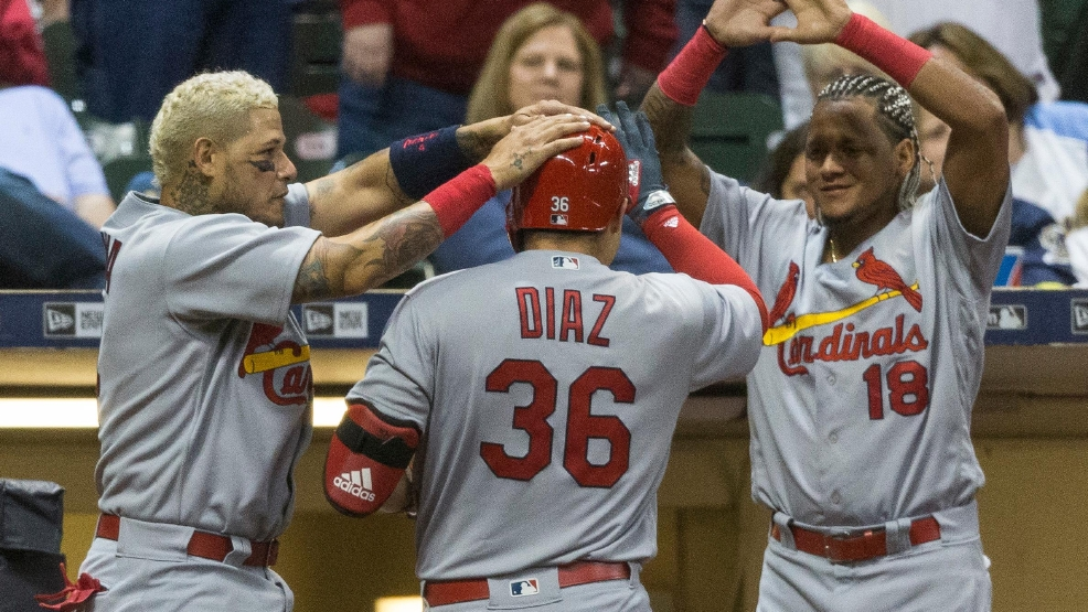 cardinals come back from down fall brewers innings