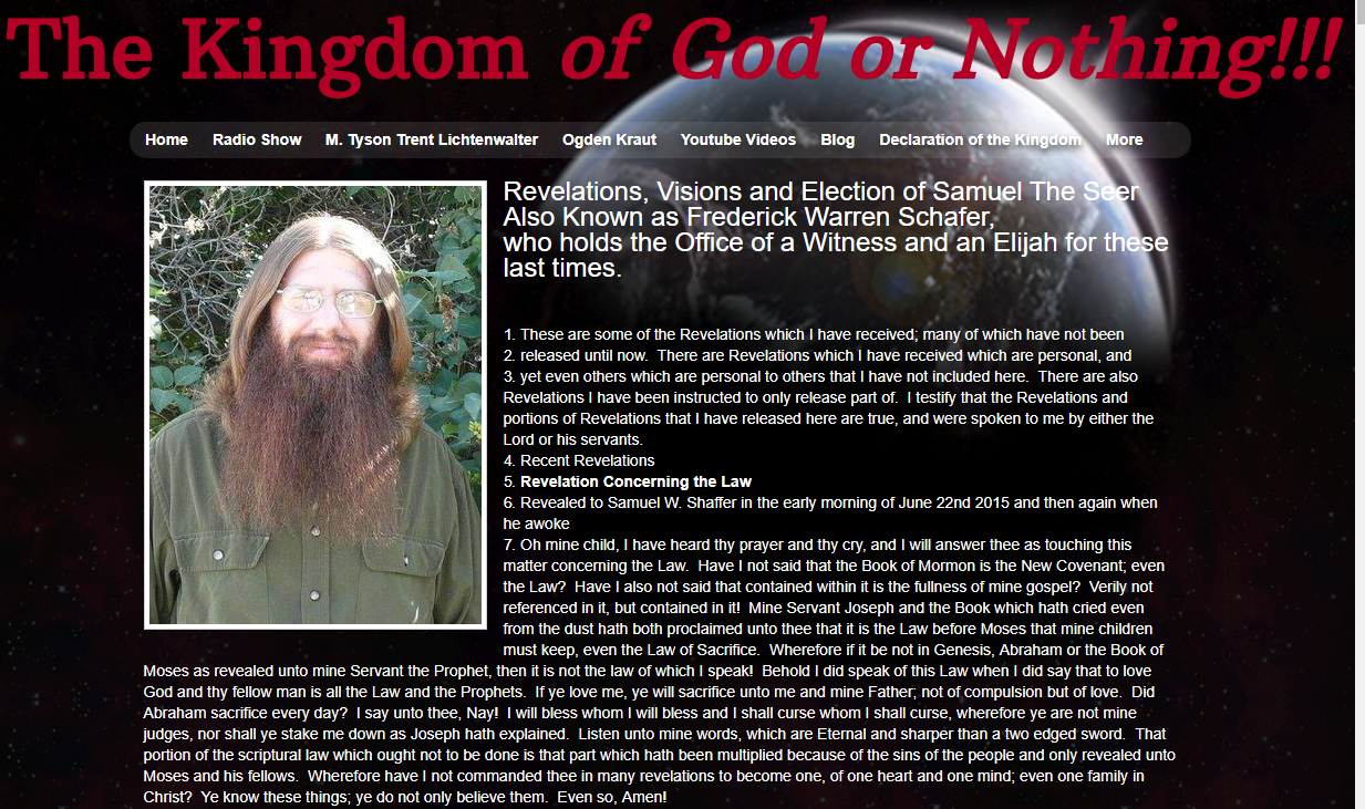 "Professor of law speaks on ""Knights of the Crystal Blade"" doomsday cult (Photo: KUTV)"