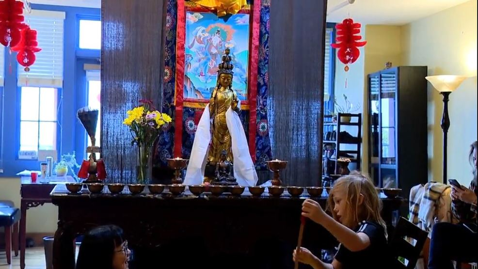 Downtown Asheville Buddhist temple celebrates lunar new year
