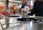 Amity Elementary Students Sorting Lunch Items.jpg