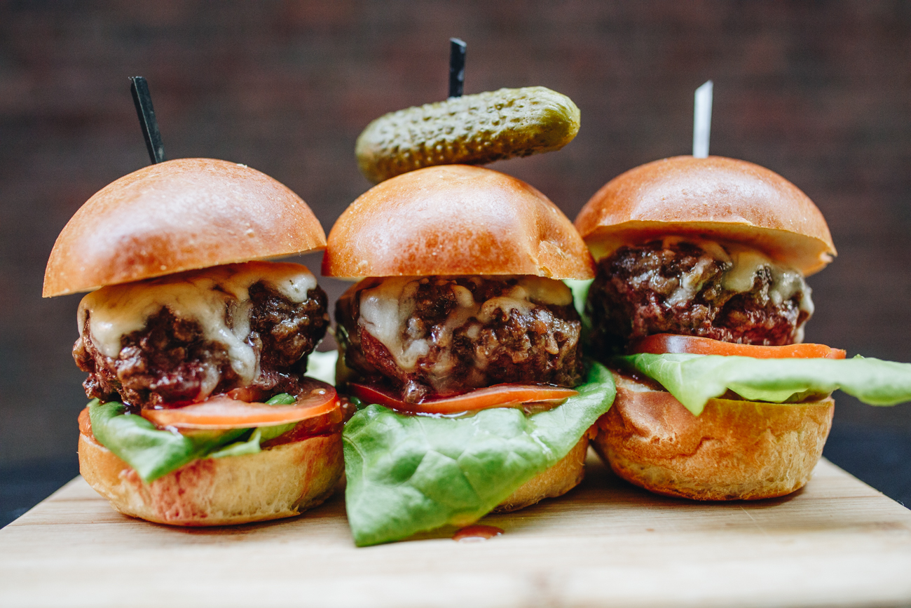 Sliders with beef from Longdale Farm / Image: Catherine Viox // Published: 5.8.18