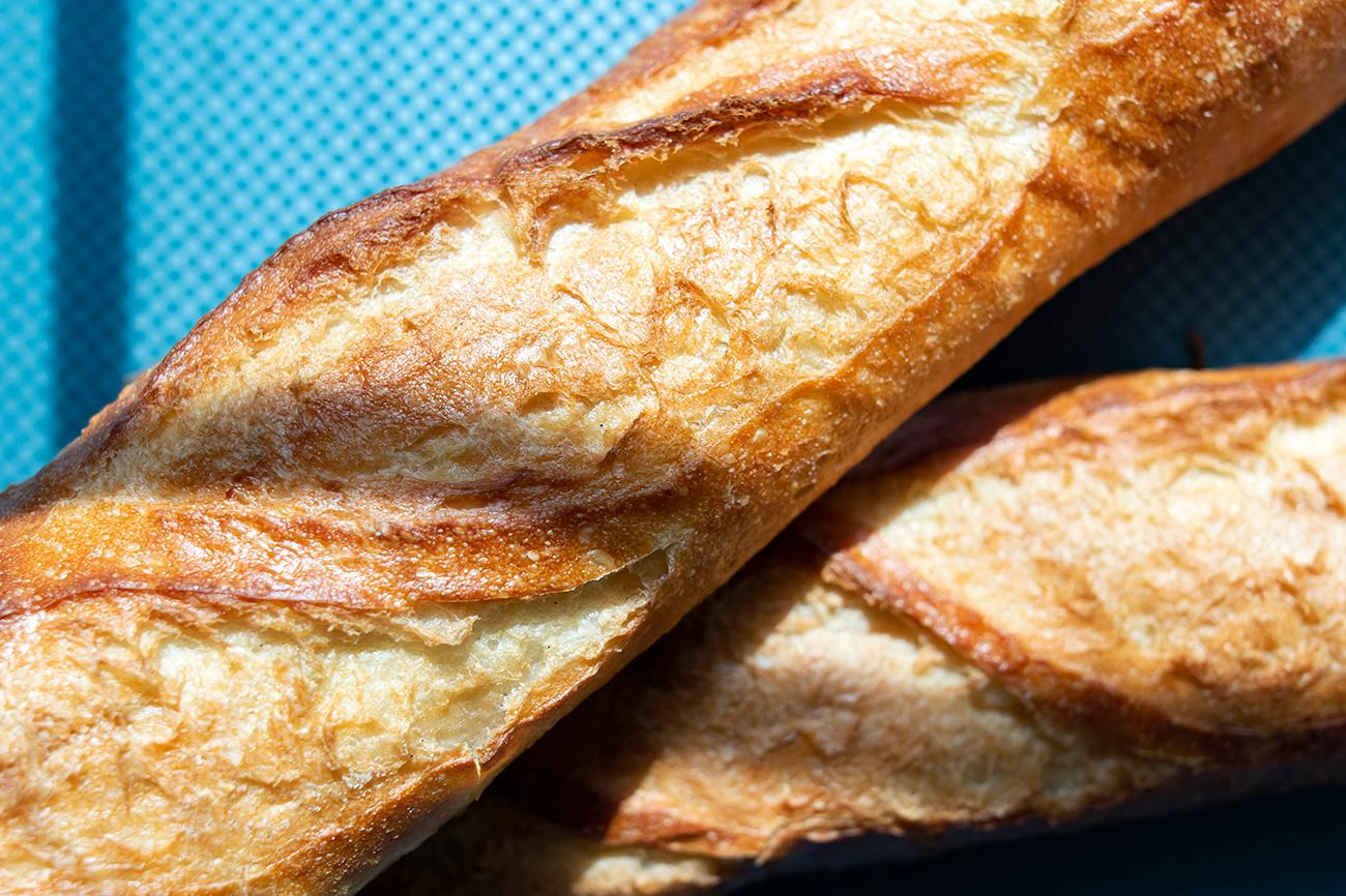 <p>Fresh baguettes / Image: Allison McAdams{&nbsp;}// Published: 8.19.19</p>