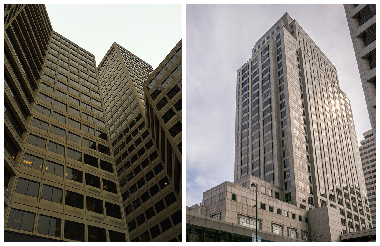 4th Street has modern skyscrapers: Atrium Buildings and First Financial Tower / Images: Phil Armstrong, Cincinnati Refined // Published: 4.23.18