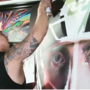 From can to canvas: Las Vegas artist spray paints Vegas Golden Knights