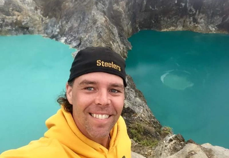 "Photo: Jeff ""Swede"" Swedenhjelm was traveling around the world prior to suffering a near-fatal fall in Bali in December 2017 Courtesy: Lyric Swedenhjelm"