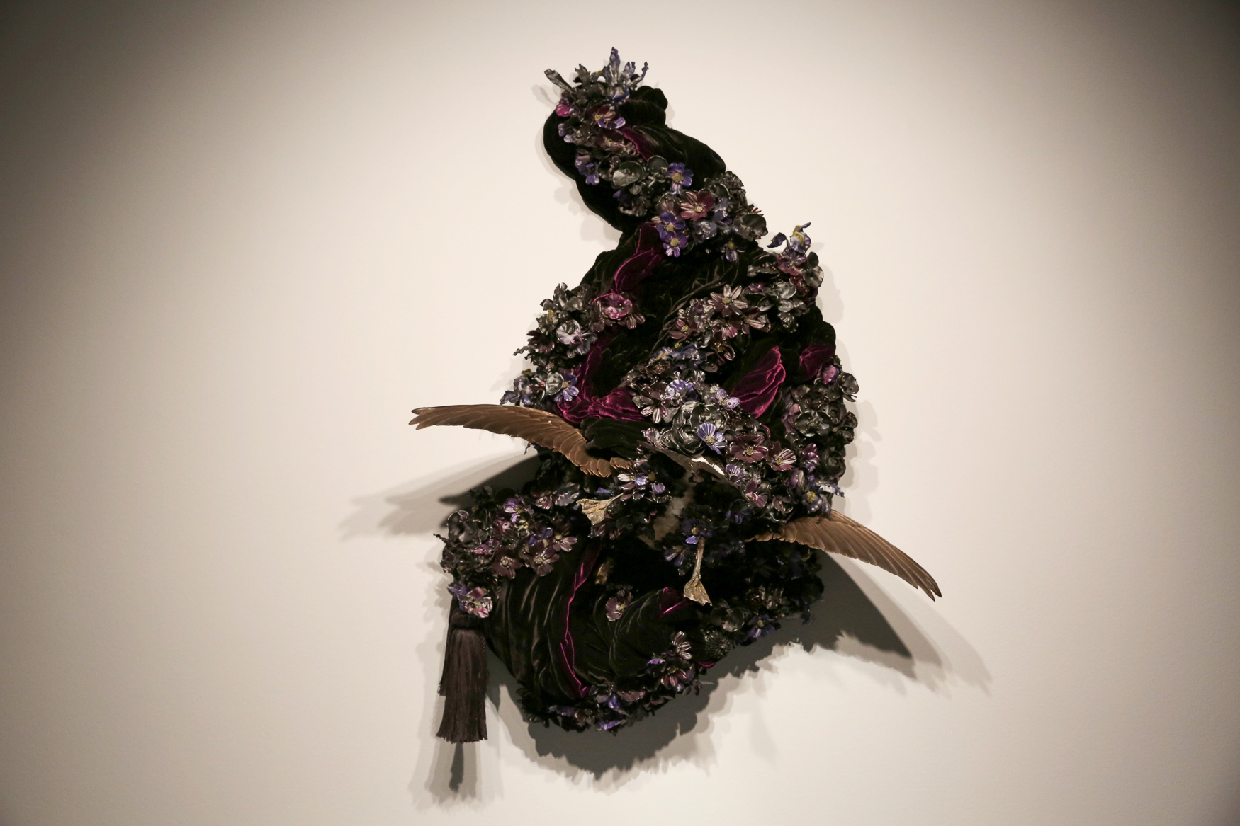 The National Museum of Women in the Arts currently has some mighty exhibitions, each of which are thought-provoking. Tickets are $10, but they also offer a free-with-admission discussion about the art at 2 p.m. most days. (Amanda Andrade-Rhoades/DC Refined)