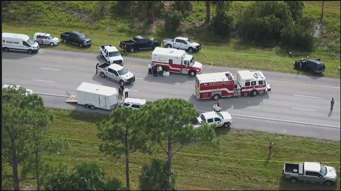 FHP Trooper Joseph Bullock shot and killed on I-95 in Martin County. (WPEC)<p></p>