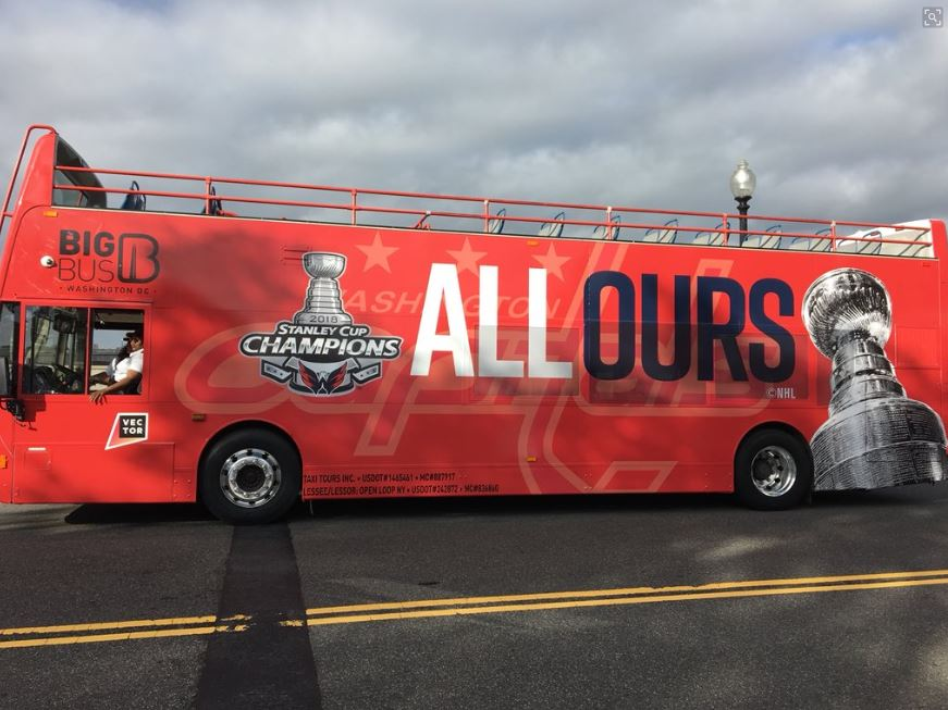 Capitals' Stanley Cup victory parade taking over D.C. (Photo: Scott Abraham)