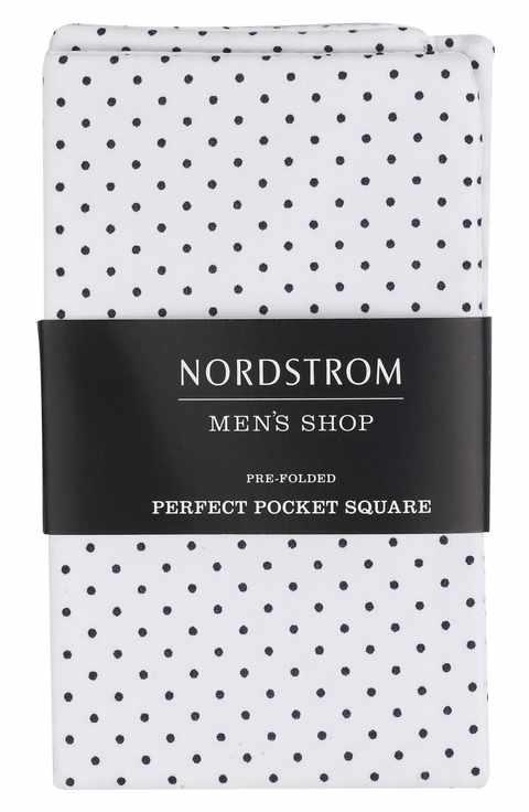 Nordstrom Men's Shop Perfect Pocket Square // Price: $19.50 // (Image: Nordstrom)<p></p>