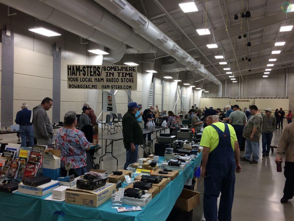 The 35th annual Kalamazoo Hamfest and Amateur Radio Swap and Shop brought fans together to see some of the latest innovations.