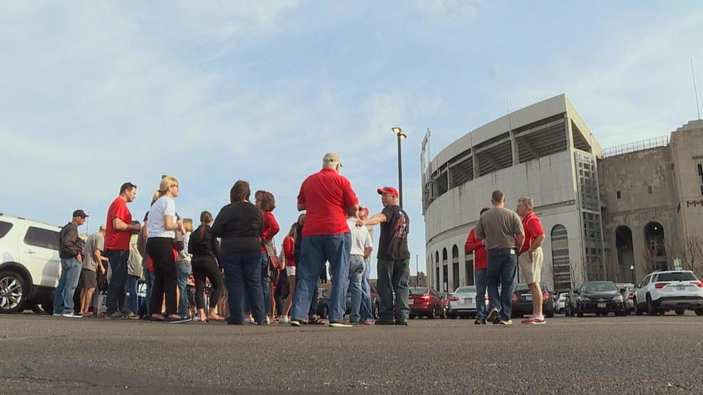 Haley-Fans tailgating at Ohio Staduim.jpg