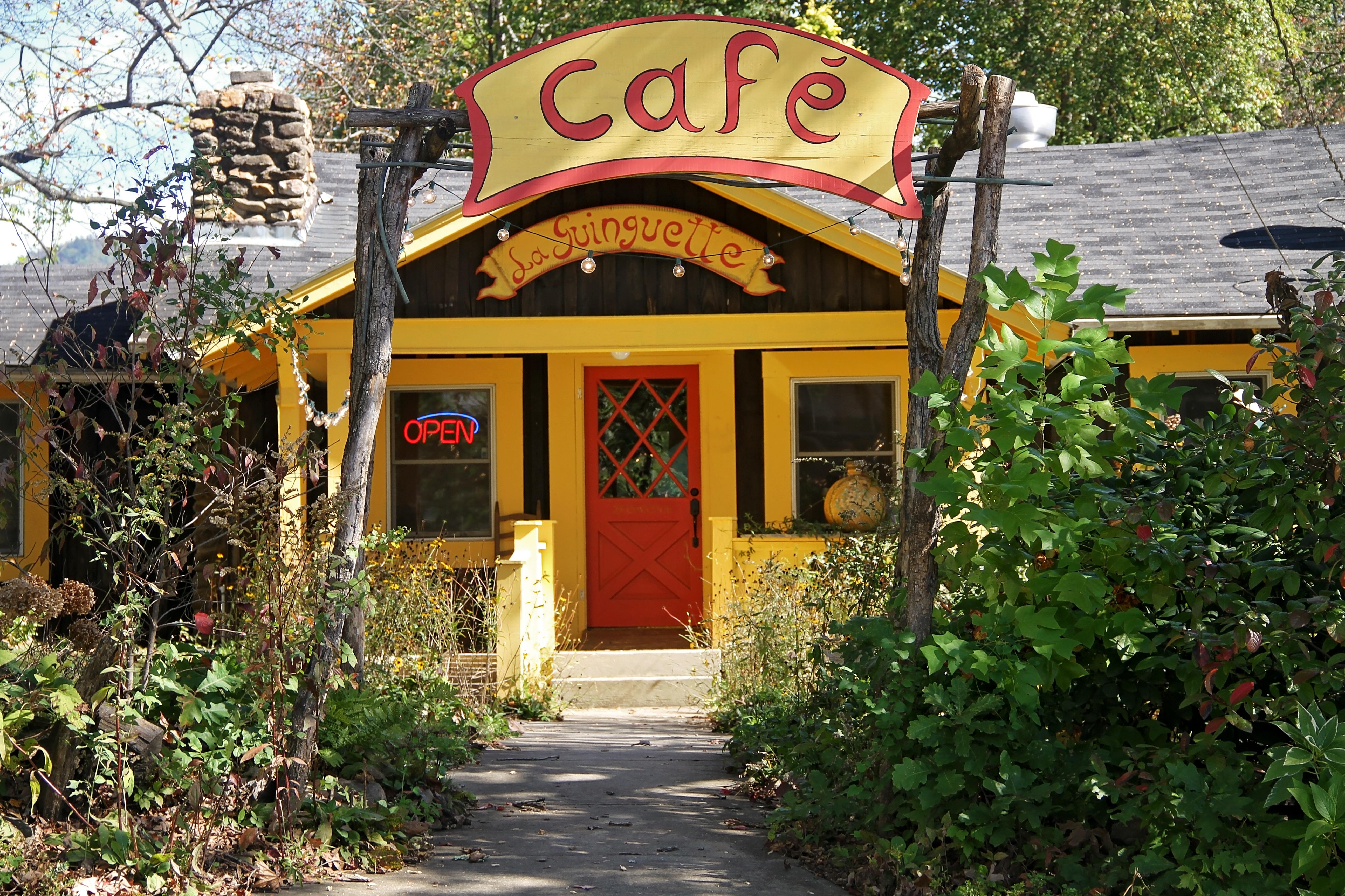 La Guinguette (pronounced 'la gang-get') serves French and Latin food in Black Mountain. (Photo credit: WLOS Staff)