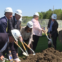 Hundreds attend new Dallas school groundbreaking