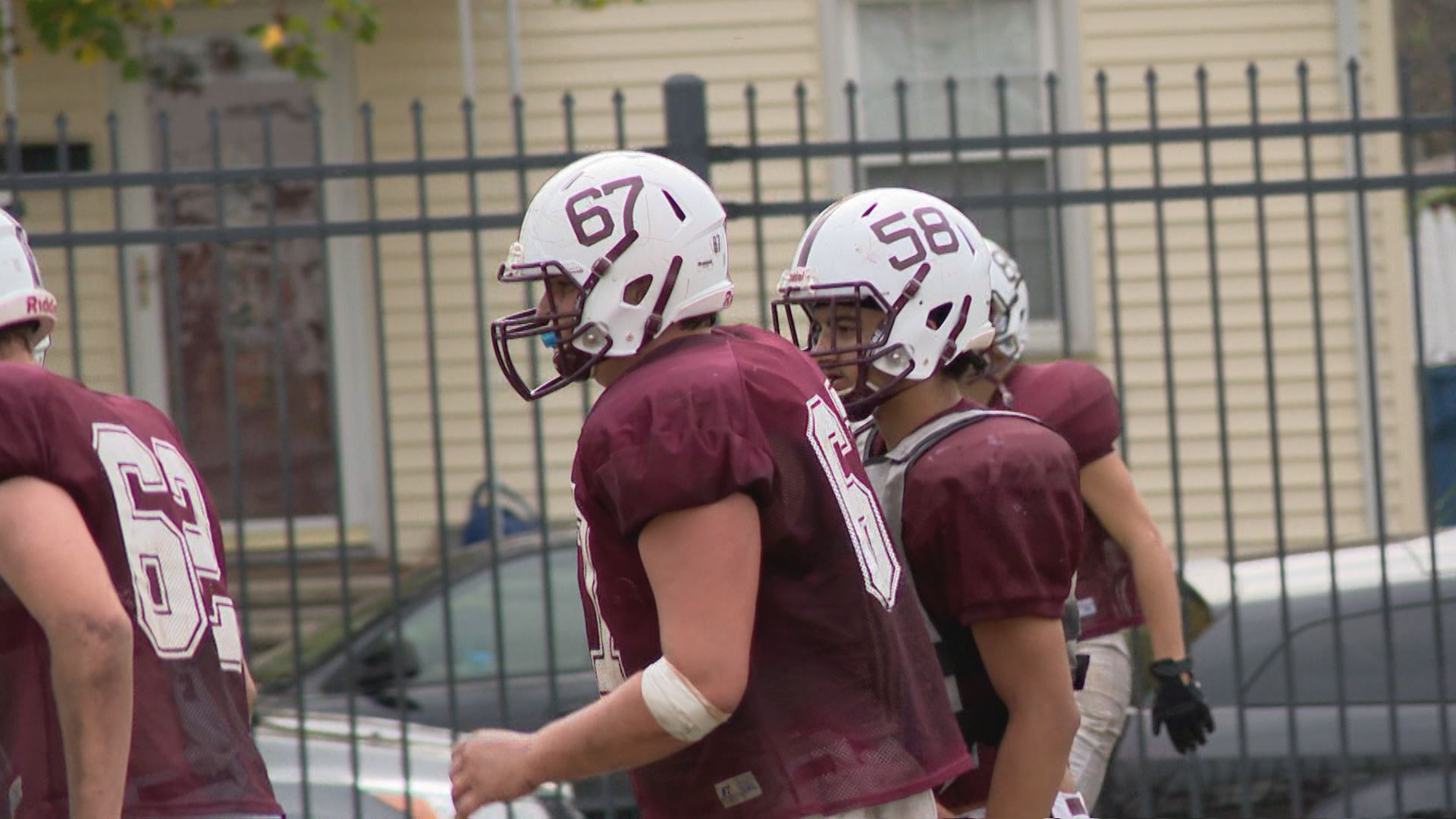 Faulkner is a force up front for the Mishawaka Cavemen // WSBT 22 Photo