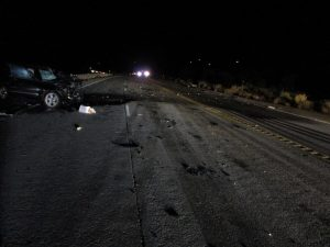 One person was killed during a vehicle crash on state route 40 in Heber City, Utah Highway Patrol (UHP) reports. (Photo courtesy of UHP)