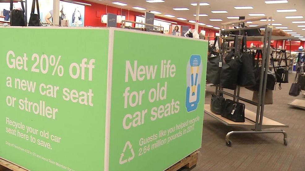 In Honor Of Earth Month Target Offers Car Seat Trade Deal