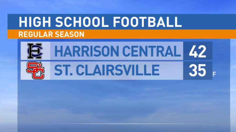 10.4.19 Highlights: Harrison Central at St. Clairsville