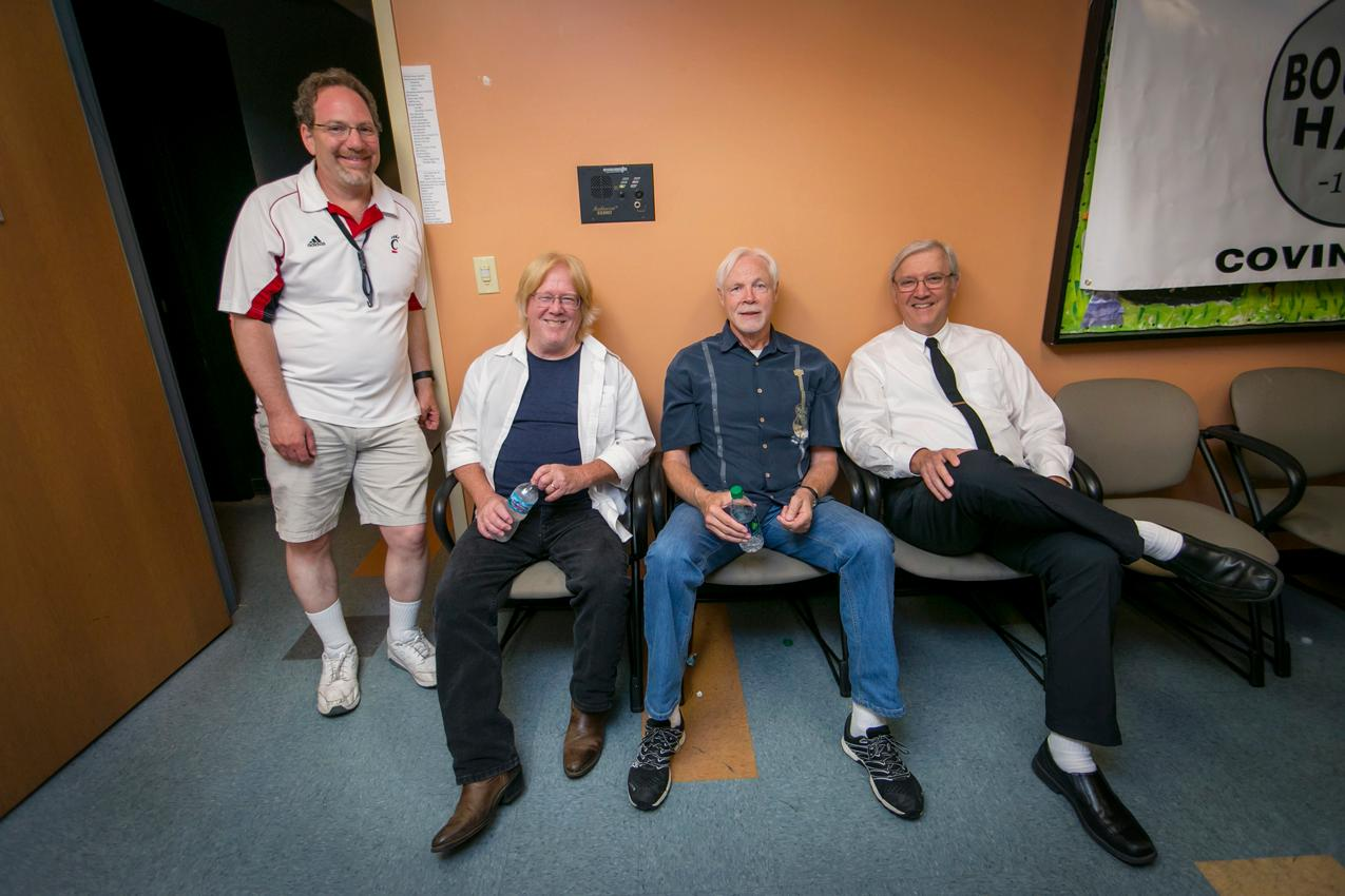 Ken Poleyeff, Rick Marksberry, John Long, and Cliff Adams{ }/ Image: Mike Bresnen Photography // Published: 6.17.18