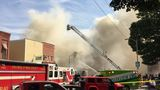BREAKING: Fire crews continue to fight fire in downtown LaGrange
