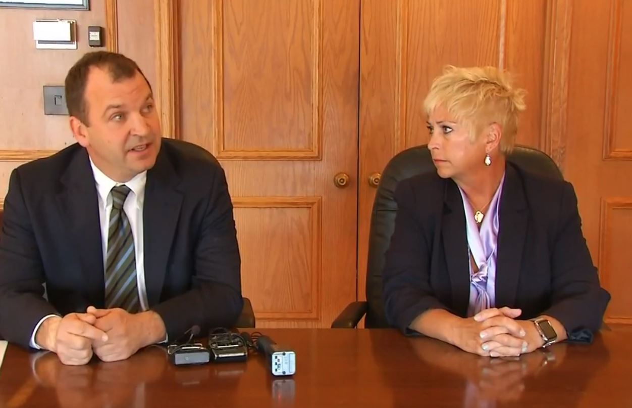 Watch: Attorney for Rhonda Corr says allegations are 'politically motivated' (WKEF/WRGT)<p></p>